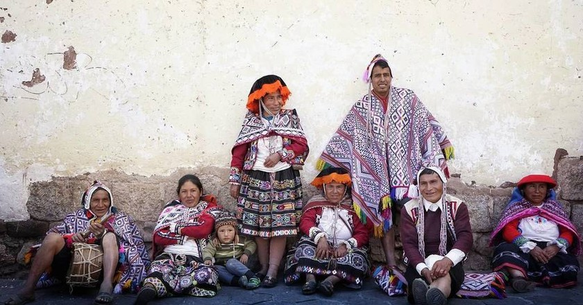Cusco traditional dress   © Gavriil Papadiotis / Flickr