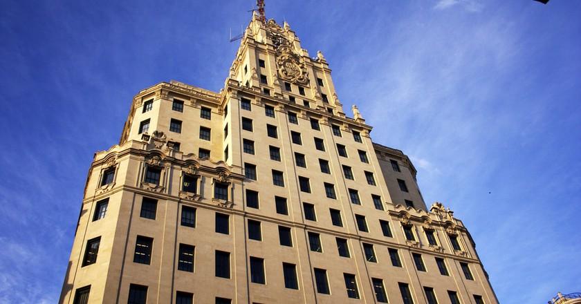 Madrid's Telefónica Building ©Javier Paredes/Flickr
