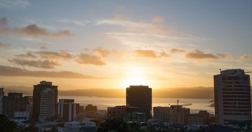 Sunrise in Wellington | © Simeon W/Flickr