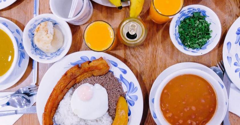 Colombian food   © Eddy Milfort / Flickr