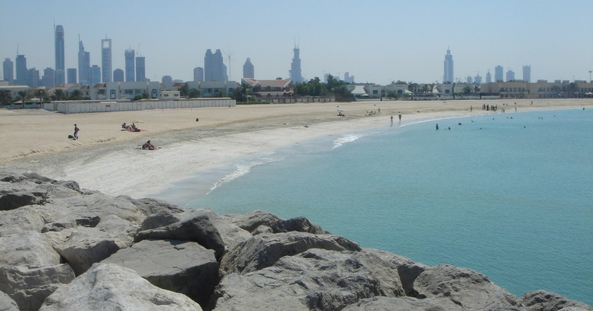 The beaches in Dubai are not only unique for the region but for the world as well | © Marc van der Chijs/Flickr