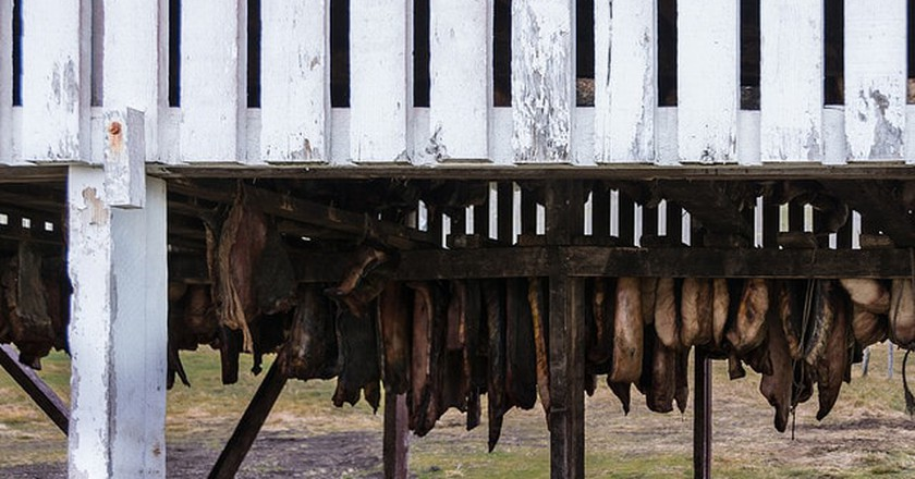 Fermented shark | © Austin Matherne/Flickr