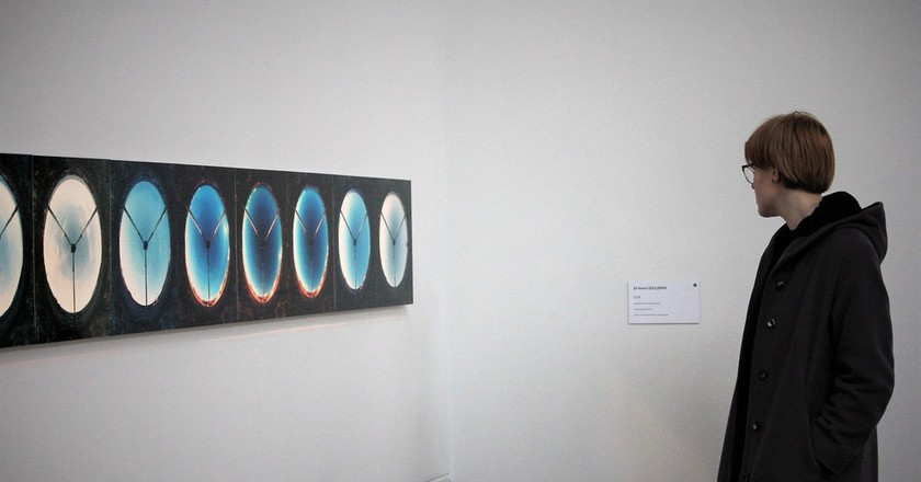 Art exhibit in Taidehalli, Helsinki   © Ilkka Jukarainen / Flickr