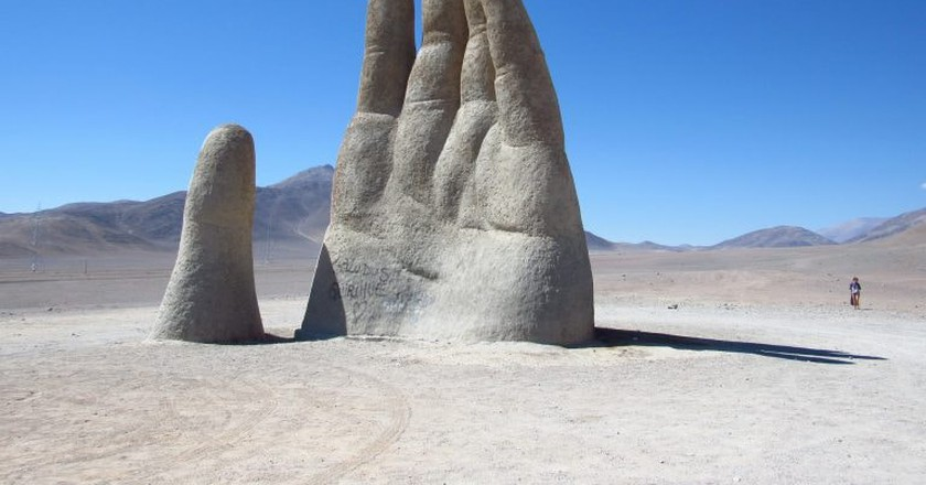 Hand of the Desert, Antofagasta | © daniel ruiz / Flickr