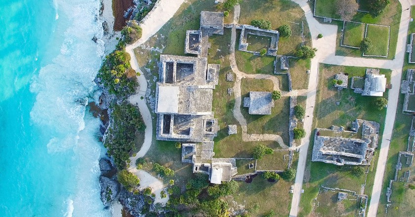 Tulum Ruins from above | © Falco Ermert/Flickr