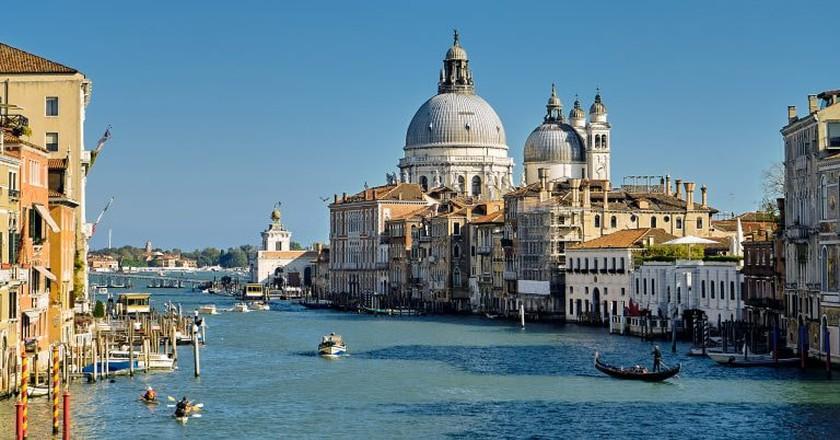 Venice Grand Canal ©Pedro Szekely