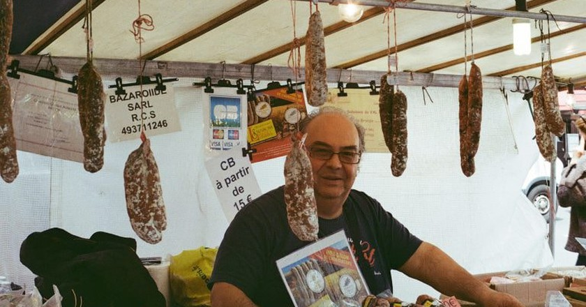 French market stall   © Jana Markova / Flickr