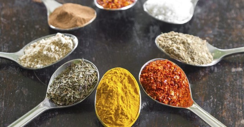 Indian spices | © Ky0n Cheng / Flickr