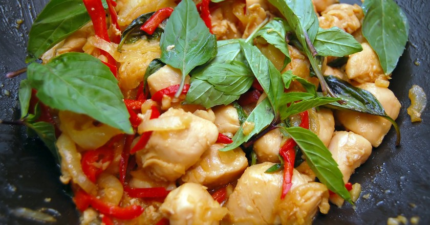 Pad Krapao chicken | © Gnawme/Flickr
