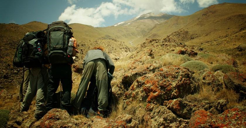 Climbing Mount Damavand in Iran   © Ondřej Odcházel/Flickr