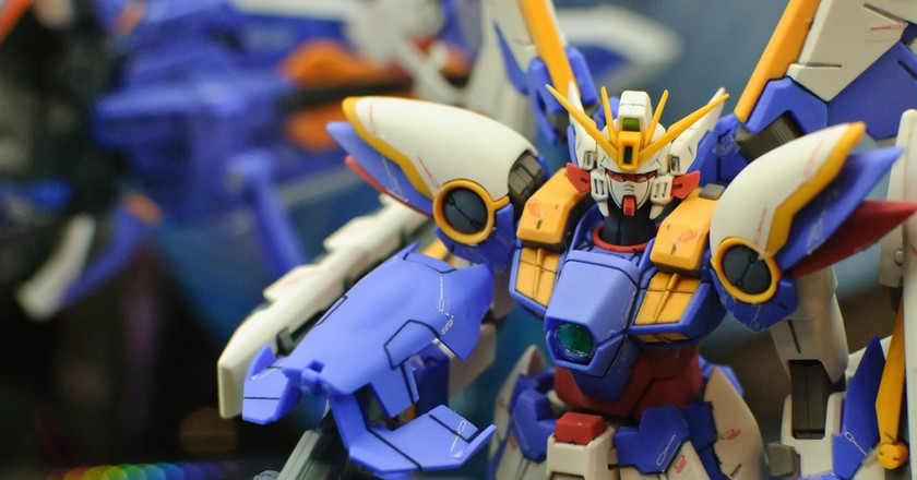 Realistic gundam figurine, perfect for collectors   © Joey/Flickr