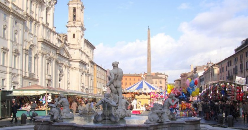 2010's Christmas market in Piazza Navona | © MollySVH/Flickr