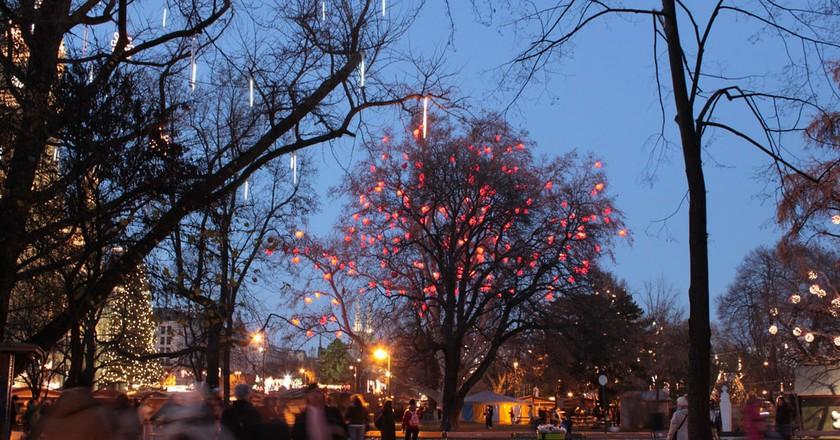 Vienna at Christmas | © Sandy Kirchlechner / Flickr