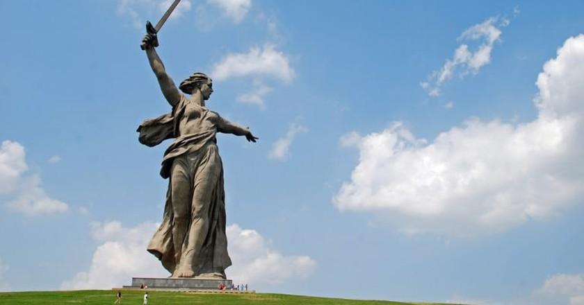 'The Motherland Calls', Volgograd