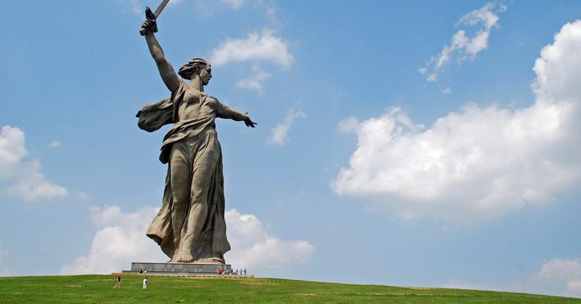 'The Motherland Calls', Volgograd   © Rob / Flickr