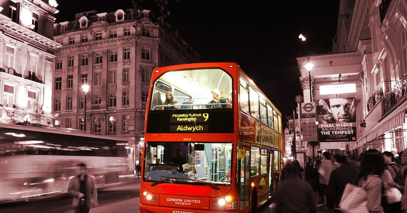 London Bus | © Javier/Flickr