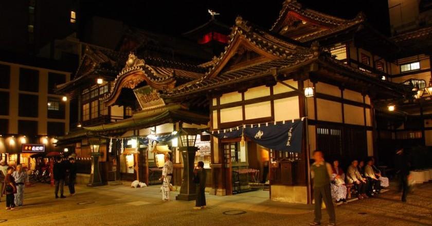 Front entrance to Dōgo Onsen Honkan | © Maarten Heerlien/ Flickr