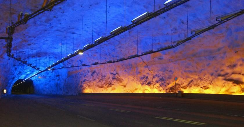 World's longest road tunnel is in Norway | © Jørn Eriksson / Flickr