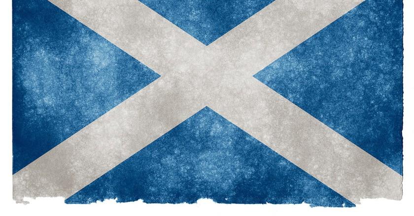 Scotland Grunge Flag | © Nicholas Raymond/Flickr
