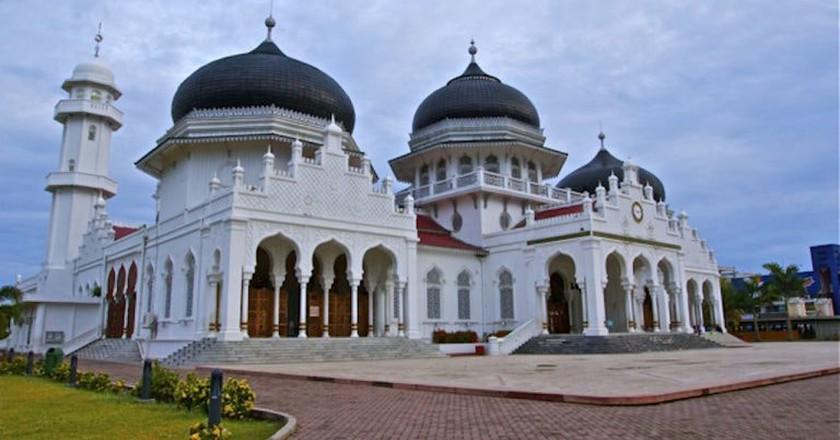 Baiturrahman Mosque, Aceh   © Adhi Rachdian/Flickr