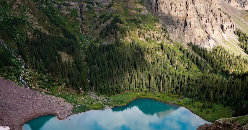 Blue Lake Basin, Mt. Sneffels Wilderness, Colorado | ©Steven Bratman / Flickr