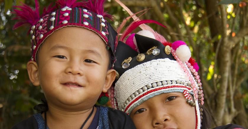 Hill tribe children, Northern Thailand | David Dennis/Flickr