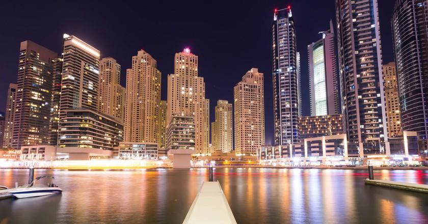 The view of Dubai Marina | ©Tom Sespene / Flickr