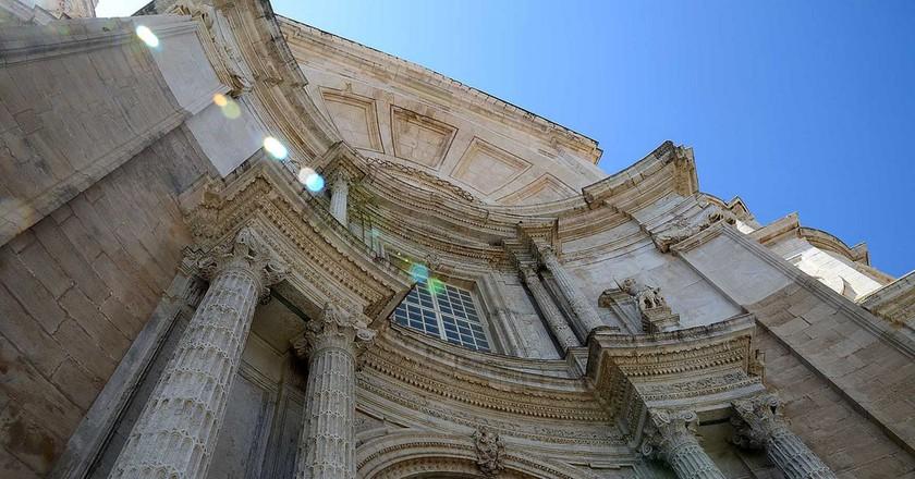 The facade of Cadiz's cathedral | © Roger Ward / Flickr