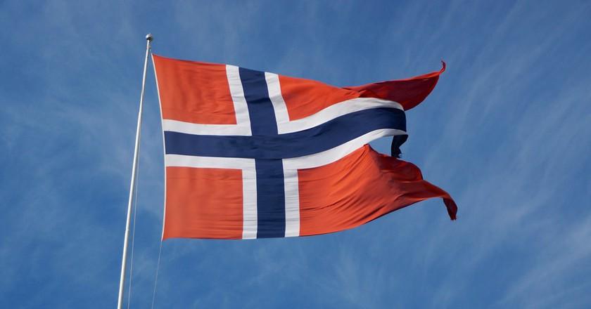 Norwegian flag |© Julian-G. Albert / Flickr