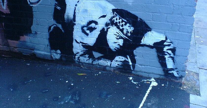 Banksy | © seanbjack/Flickr