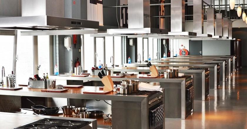 The setup at the Dutch Cooking Experience | © De Kookfabriek