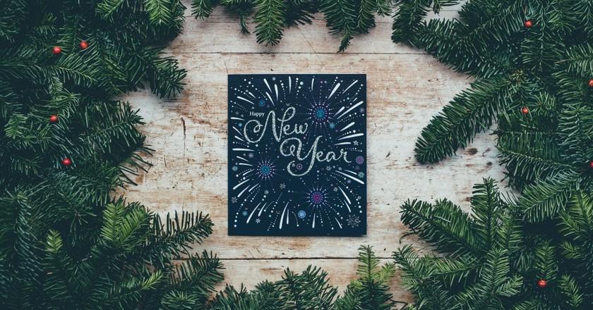Happy New Year   © Annie Spratt / Unsplash
