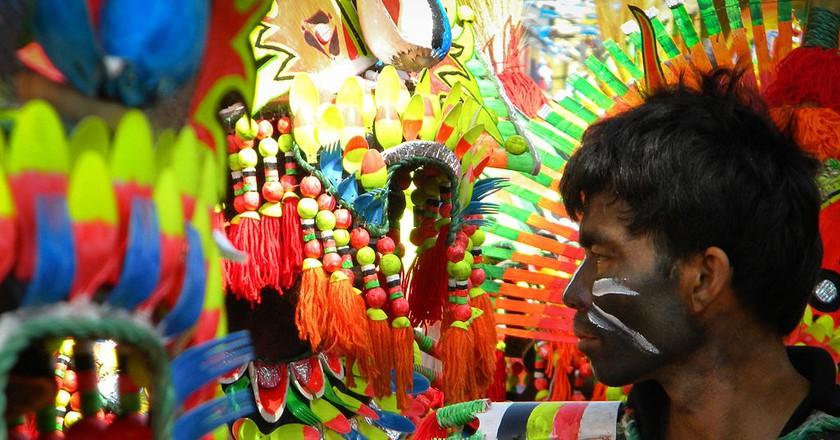 Ati-Atihan Festival Street Dancer