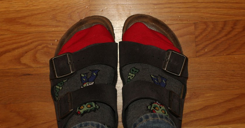 Birkenstocks and Socks | © Eli Christman / Flickr