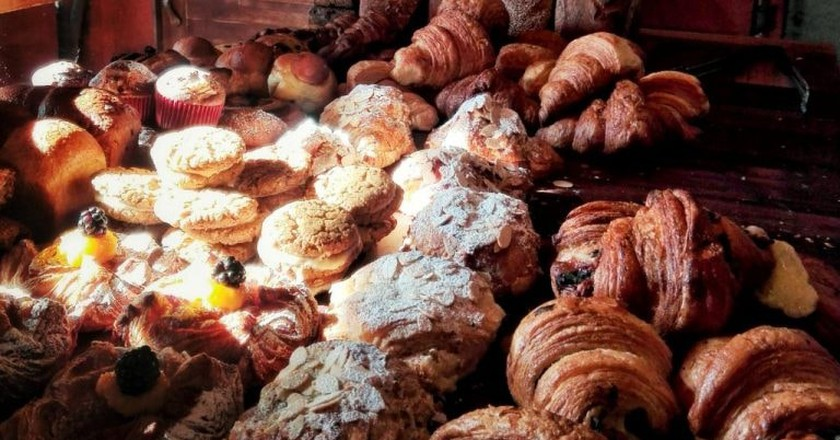 Fresh baked pastries at Boulenc │© Boulenc