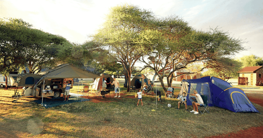 Camping in South Africa   Photo courtesy of South African Tourism