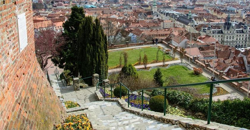 View of Graz | © bogitw / Pixabay