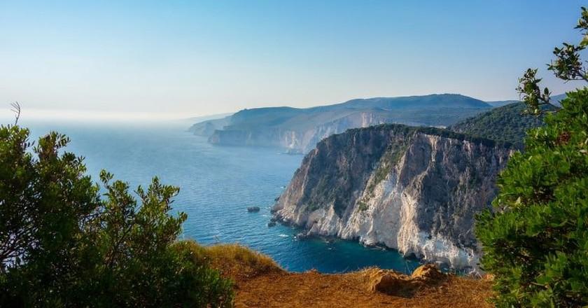 Zakynthos coast