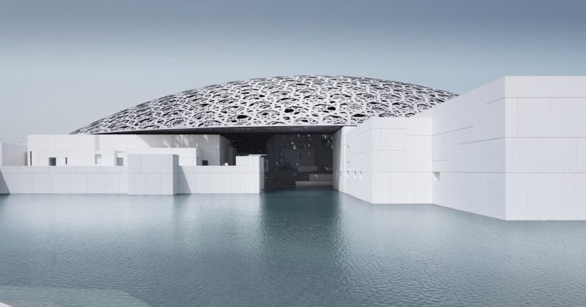 Louvre Abu Dhabiís exterior | © Louvre Abu Dhabi, Photography: Mohamed Somji