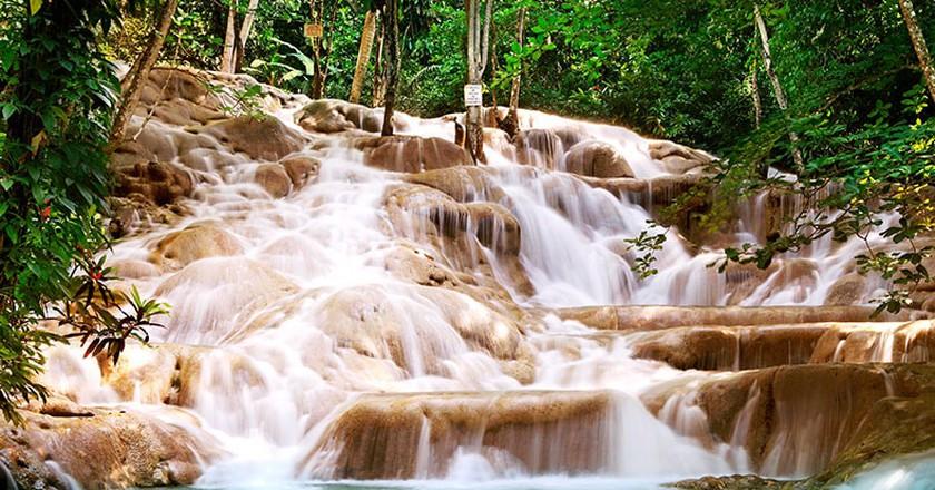 Dunn's River Falls, Jamaica  © WikiCommons