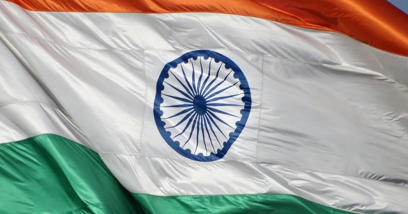 Indian Flag | © Adam Jones / Flickr