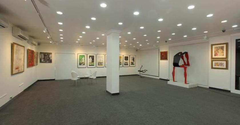 An interior view of the Focus Art Gallery on TTK Road, Alwarpet, Chennai | Image Courtesy of Mayur Shah/Focus Art Gallery