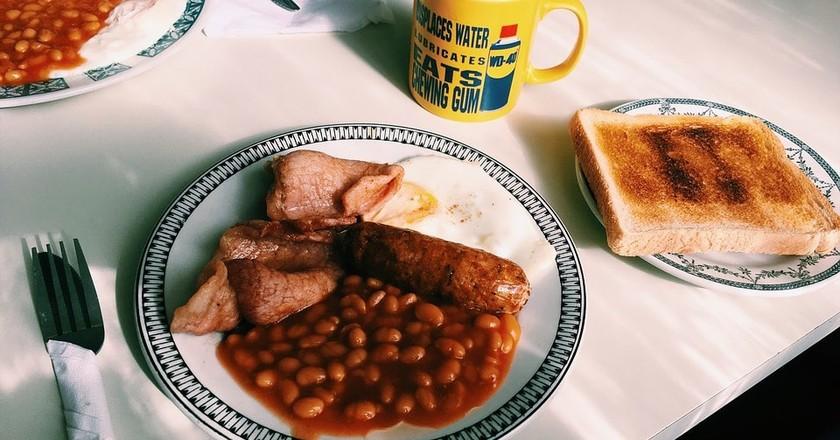 Full English Breakfast | © Pixabay