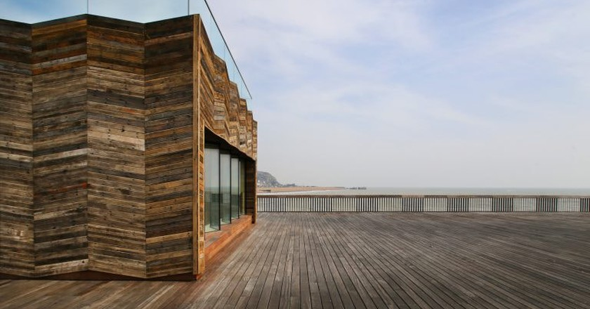 Hastings Pier Wins the 2017 RIBA Stirling Prize and Becomes the UK's Best New Building