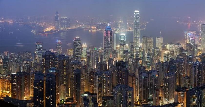 Hong Kong skyline | © Diliff / Wiki Commons