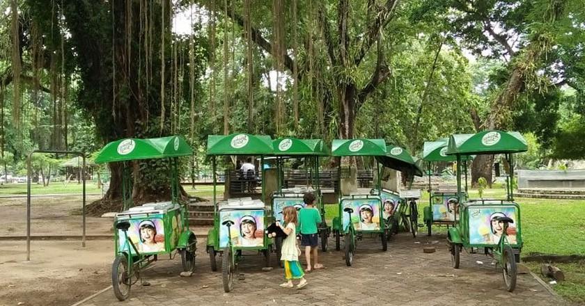 Viharamahadevi Park in Cinnamon Gardens / Courtesy of the author