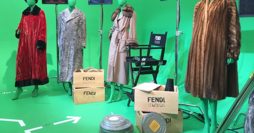 A collection of famous Fendi furs | © Emma Law