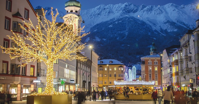 Maria Theresien Street |Courtesy of Innsbruck Tourismus / Alexander Tolmo