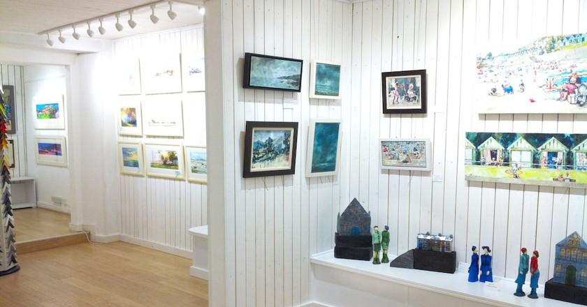 Interior Gower Gallery ©thegowergallery