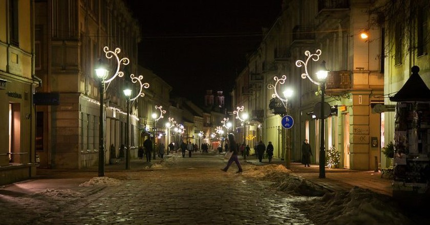 Kaunas at night | ©Petr Magera/Flickr